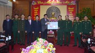 Thường trực Tỉnh ủy thăm, chúc Tết các đơn vị lực lượng vũ trang