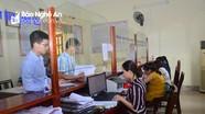 TP. Vinh phát phiếu thăm dò mức độ hài lòng của người dân về thủ tục hành chính