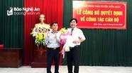 Diễn Châu: Bổ nhiệm trưởng, phó phòng cấp huyện