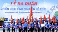 Hơn 700 sinh viên Đại học Vinh ra quân chiến dịch tình nguyện hè 2018