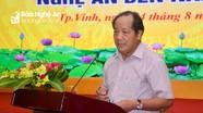 """Ông Hồ Xuân Hùng: Nghệ An nên phát triển nông nghiệp """"sạch - an toàn - công nghệ cao"""""""