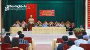 Bí thư Tỉnh ủy tiếp xúc cử tri huyện Quỳnh Lưu