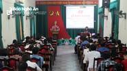Đảng ủy Khối CCQ tỉnh bồi dưỡng lý luận chính trị cho 58 đảng viên mới