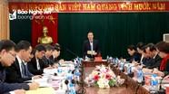 Đồng chí Võ Văn Thưởng kiểm tra, đôn đốc công tác phòng, chống tham nhũng tại Nghệ An