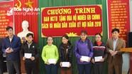 Ban Nội chính Tỉnh ủy thăm, tặng quà Tết hộ nghèo tại Quỳ Châu