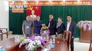 Huyện Xăm Tảy, Hủa Phăn, Lào chúc Tết huyện Quế Phong