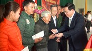 Phó Thủ tướng Vương Đình Huệ tặng quà Tết hộ nghèo, gia đình chính sách huyện Nghi Lộc
