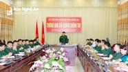 Bộ CHQS tỉnh Nghệ An thông qua bài giảng chính trị bằng hình thức trực tuyến