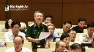 Phó Tư lệnh Quân khu 4 góp ý dự thảo Luật Lực lượng dự bị động viên
