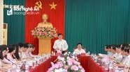 Phó Trưởng ban Tuyên giáo Trung ương đề nghị Nghệ An tăng cường kiểm soát chi BHYT