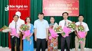 Công bố Quyết định thành lập Trung tâm Văn hóa - Thể thao và Truyền thông Nam Đàn