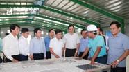 Chủ tịch UBND tỉnh thăm, kiểm tra một số dự án, nhà máy, mô hình phát triển kinh tế tại Nghĩa Đàn