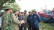 Bộ trưởng Bộ NN&PTNT: Nghệ An phải luôn trong tư thế 'cẩn thận, chu đáo' ứng phó với bão số 4