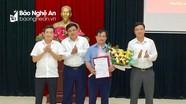 Công bố Quyết định của Ban Thường vụ Tỉnh ủy về công tác cán bộ Thị ủy Thái Hòa