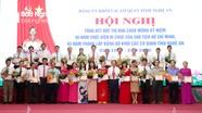 Danh sách 10 tập thể, 35 cá nhân được Ban Thường vụ Đảng ủy Khối CCQ tỉnh Nghệ An khen thưởng