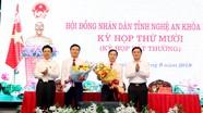 Nghệ An bầu bổ sung 2 Ủy viên UBND tỉnh