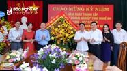 Chủ tịch UBND tỉnh chúc mừng Đảng bộ Khối Doanh nghiệp nhân kỷ niệm ngày thành lập