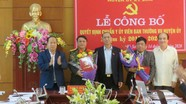 Ban Thường vụ Tỉnh ủy Nghệ An chuẩn y 2 Ủy viên Ban Thường vụ Huyện ủy Kỳ Sơn