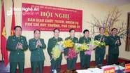 Bàn giao chức trách nhiệm vụ các Phó Chỉ huy trưởng, Phó Chính ủy BĐBP tỉnh Nghệ An