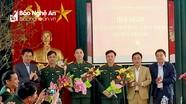 Quỳnh Lưu, Quỳ Hợp, Đô Lương có tân Chỉ huy trưởng Ban Chỉ huy quân sự