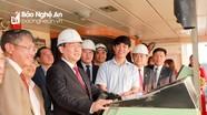 Phó Thủ tướng Vương Đình Huệ chúc Tết tại Cảng Nghệ Tĩnh