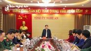 Thường trực Tỉnh ủy Nghệ An: Không để tư tưởng vui Tết, du Xuân ảnh hưởng đến hiệu quả công việc