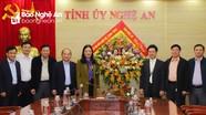 Các cơ quan, tổ chức chúc mừng Tỉnh ủy nhân kỷ niệm 90 năm Ngày thành lập Đảng