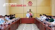 Bí thư Tỉnh ủy Thái Thanh Quý chủ trì cuộc họp về công tác phòng, chống Covid-19