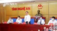 Chủ tịch UBND tỉnh Nghệ An Nguyễn Đức Trung: Vừa chống dịch vừa thúc đẩy sản xuất