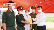 Chủ tịch UBND tỉnh đánh giá cao sự ủng hộ của nhân dân với công tác phòng, chống dịch