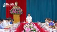 Ban Thường vụ Tỉnh ủy duyệt nội dung, nhân sự Đại hội Đảng bộ huyện Yên Thành