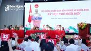 HĐND tỉnh Nghệ An quyết nghị cho 1 đại biểu thôi làm nhiệm vụ