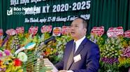 Đồng chí Nguyễn Viết Hưng tái đắc cử Bí thư Huyện ủy Yên Thành