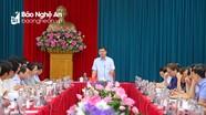 Ban Thường vụ Tỉnh ủy duyệt văn kiện, nhân sự Đại hội Đảng bộ huyện Con Cuông