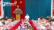 Ban Thường vụ Tỉnh ủy duyệt Đại hội Đảng bộ thị xã Cửa Lò