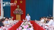 Tổ Tư vấn kinh tế - xã hội góp ý xây dựng Báo cáo chính trị Đại hội XIX của Đảng bộ tỉnh Nghệ An