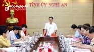 Ban Thường vụ Tỉnh ủy duyệt nội dung, nhân sự Đại hội đại biểu Đảng bộ Quân sự tỉnh