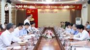 Đoàn công tác Bộ Ngoại giao làm việc với lãnh đạo tỉnh Nghệ An