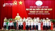Bế mạc Đại hội đại biểu Đảng bộ thành phố Vinh lần thứ XXIV, nhiệm kỳ 2020 - 2025