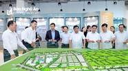 Bộ trưởng Bộ Kế hoạch và Đầu tư thăm Khu công nghiệp, đô thị và dịch vụ VSIP Nghệ An