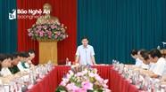 Ban Thường vụ Tỉnh ủy duyệt Đại hội đại biểu Đảng bộ huyện Nam Đàn, nhiệm kỳ 2020 - 2025