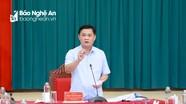 Ban Thường vụ Tỉnh ủy duyệt Đại hội đại biểu Đảng bộ huyện Anh Sơn, nhiệm kỳ 2020 - 2025