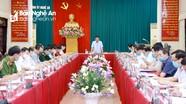 Ban Thường vụ Tỉnh ủy duyệt Đại hội đại biểu Đảng bộ huyện Nghi Lộc, nhiệm kỳ 2020 - 2025