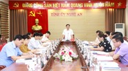 Ban Thường vụ Tỉnh ủy thông qua đề án sắp xếp các cơ quan báo chí Nghệ An đến năm 2025