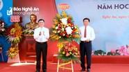 Bí thư Tỉnh ủy Nghệ An dự Lễ Khai giảng năm học mới tại ngôi trường giàu thành tích nhất xứ Nghệ