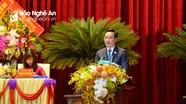 Phát biểu khai mạc Đại hội Đảng bộ tỉnh Nghệ An lần thứ XIX của Chủ tịch UBND tỉnh Nguyễn Đức Trung