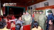Bí thư Tỉnh ủy động viên người dân ở Nghi Lộc phải sơ tán do mưa lũ