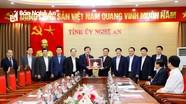 Tỉnh Nghệ An và Trường Đại học Kinh tế Quốc dân sẽ ký kết biên bản ghi nhớ hợp tác
