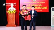 Công bố Quyết định Chủ tịch Liên đoàn lao động tỉnh Nghệ An
