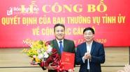 Công bố, trao Quyết định chức vụ Phó Chủ nhiệm Ủy ban Kiểm tra Tỉnh ủy Nghệ An